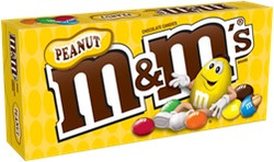 M&M'S BOX PEANUT 3.1OZ