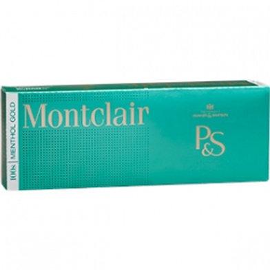 Montclair Menthol Gold 100 BOX FSC