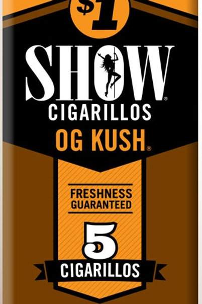 Show Cigarillo Og Kush 5 For $1 15