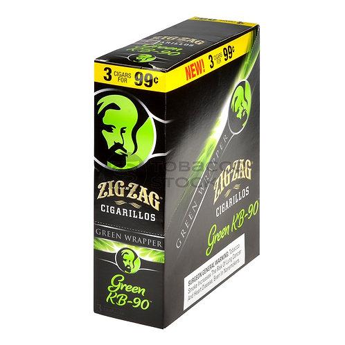 Zig Zag Cigarillo Green Kb-90 3/.99