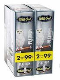 White Owl Cigarillo Platinum 2/.99
