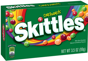 SKITTLES ORCHARDS BOX 3.5OZ