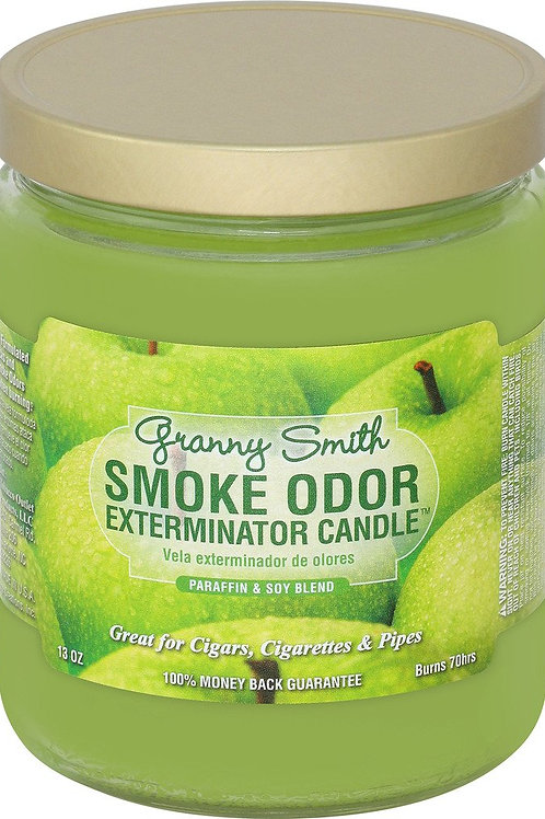 Smoke Odor Jar Granny Smith 13 Oz