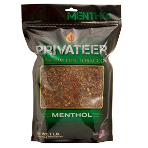 PRIVATEER PIPE TOBACCO MENTHOL 16OZ