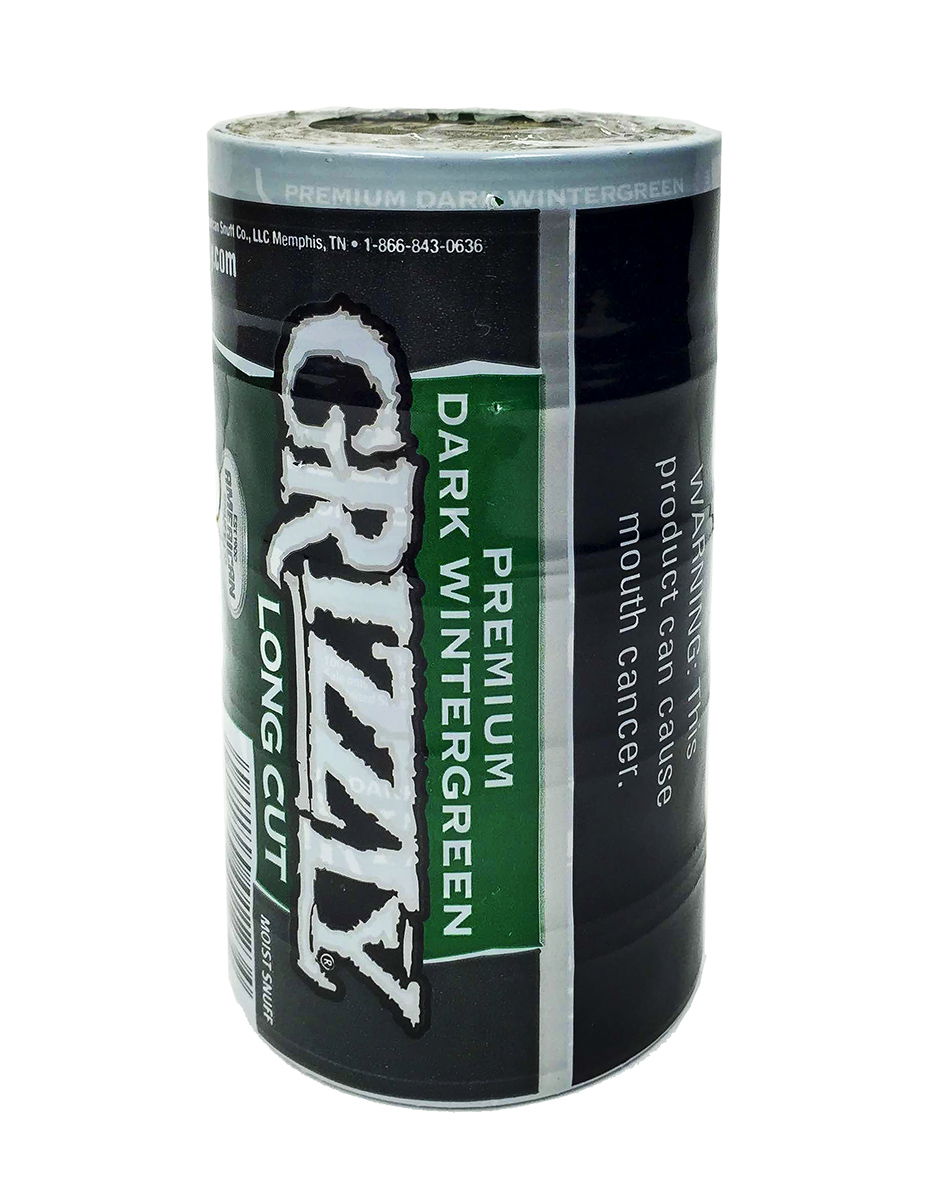 GRIZZLY LONG CUT DARK WINTERGREEN