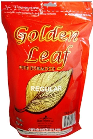 Golden Leaf Regular Pipe 6 Oz Bag