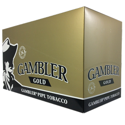 Gambler Pipe Tobacco Gold 1 Oz 12Ct