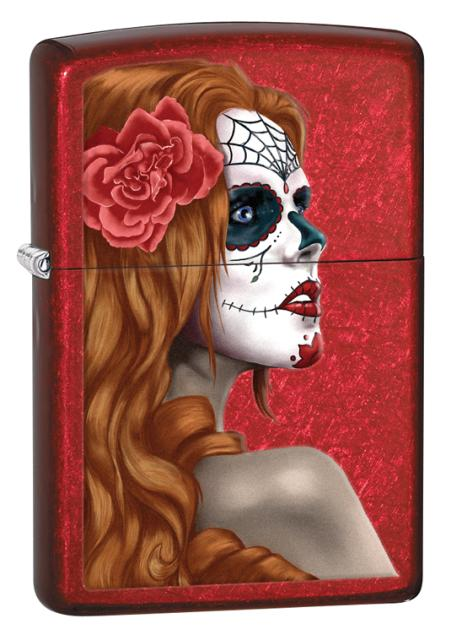483629 -  ZIPPO LIGHTER DAY OF THE DEAD