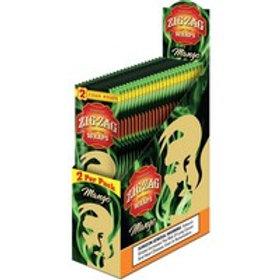 Zig Zag Wraps Mango 2 Pk 25 Ct