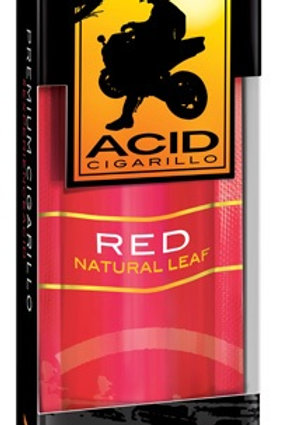 Acid Cigarillo .99 Red 10 Ct