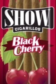 Show Cigarillo Blk Cherry 5 For $1