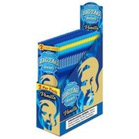 Zig Zag Wraps Vanilla 2 Pk 25 Ct