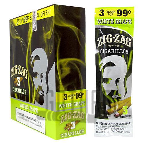 Zig Zag Cigarillo Wh Grape 3/.99 15
