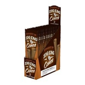 Zig Zag Cigar Cone Straightup 2Pk15