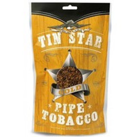 Tin Star Pipe Tobacco Gold Lg 8 Oz