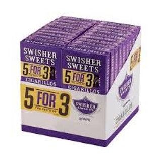 Swisher Swt Grape Cigar 5For3 20/5