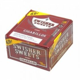 Swisher Sweet Cigarillo.69 60 Ct Bx