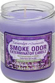 Smoke Odor Jar Lavender & Chamomile