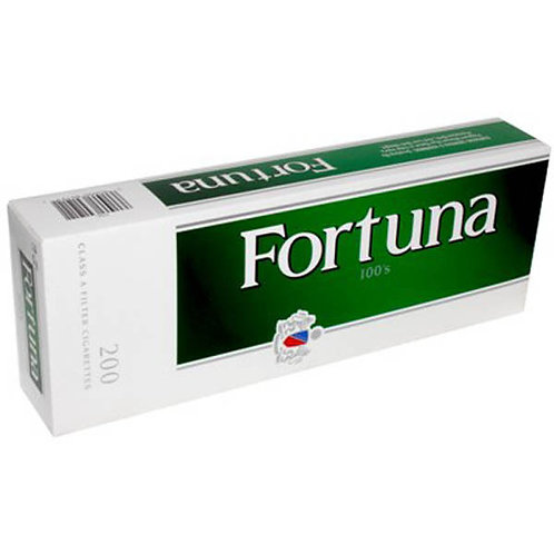 Fortuna Menthol DK Green 100 Box FSC