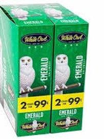 White Owl Cigarillo Emerald 2/.99