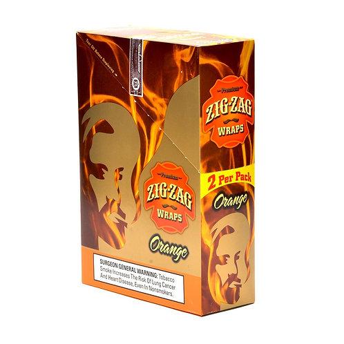 Zig Zag Wraps Orange 2 Pk 25