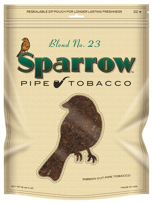 Sparrow Blend #23 Green Pt 16 Oz Bg