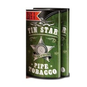 Tin Star Pipe Tob Ment Pch B1G1F 6