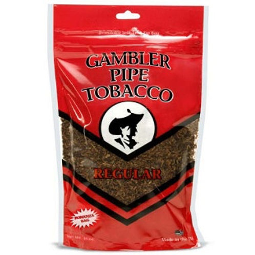Gambler Pipe Tobacco Regular 16 Oz