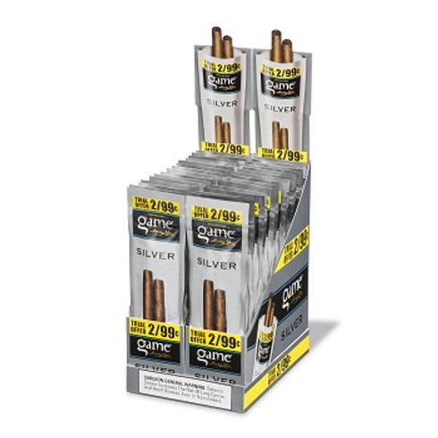 Game Cigarillo Silver 2/.99 30 Ct