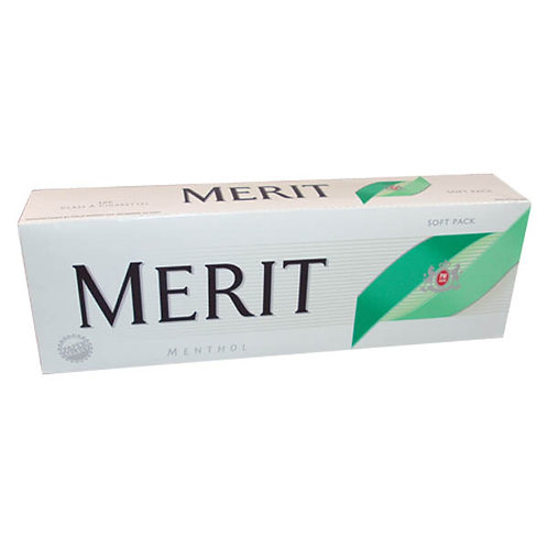 Merit Menthol Silver 100