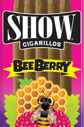 Show Cigarillo Bee Berry 5For $1 15