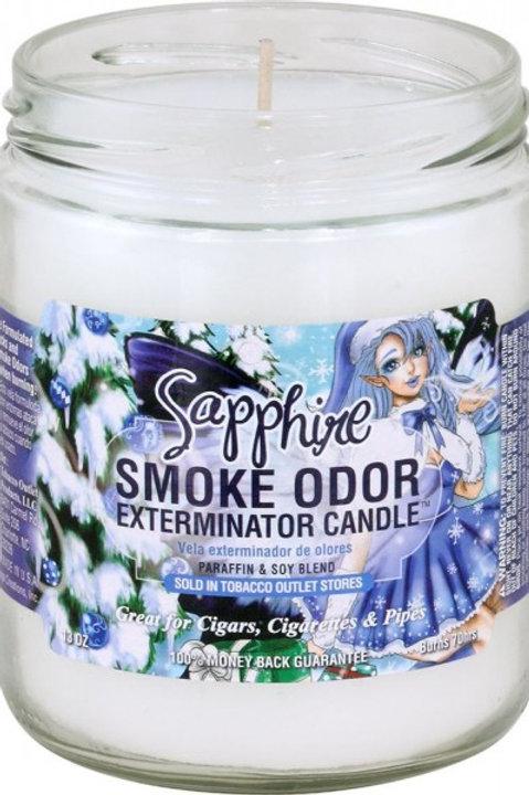 Smoke Odor Jar Sapphire 13 Oz