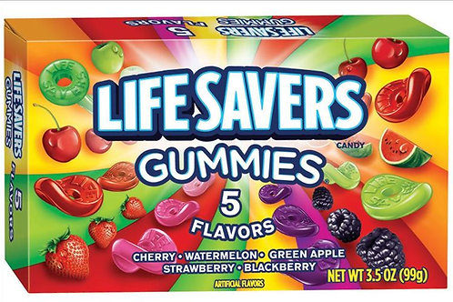 Lifesavers Gummies Box - 5 Flavors