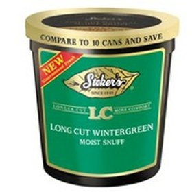 Stokers Long Cut Wintergreen Tub 12