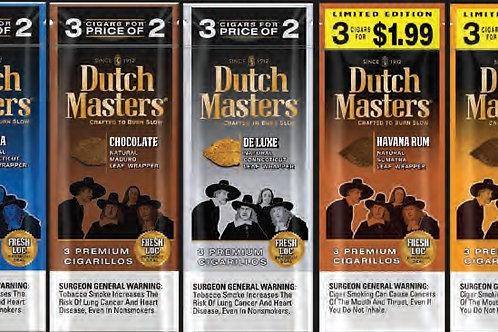 Dutch Master 3 Pk Bundle 150/900