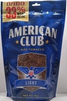American Club Pipe Tob Blue 6 Oz Bg