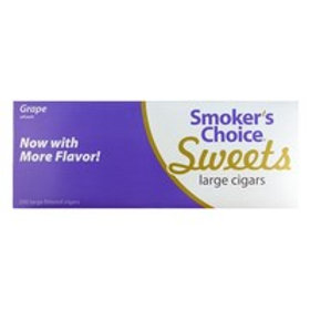 Smokers Choice Large Grape Swt 10