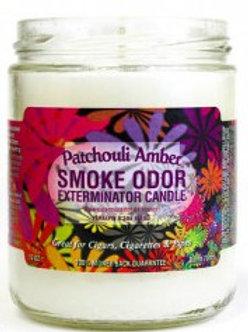 Smoke Odor Jar Patchouli Amber 13