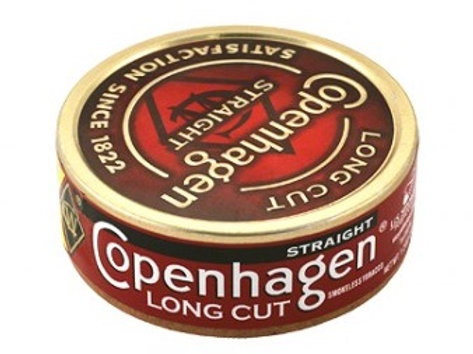 Copenhagen L Cut Straight 1.2Oz 5Ct