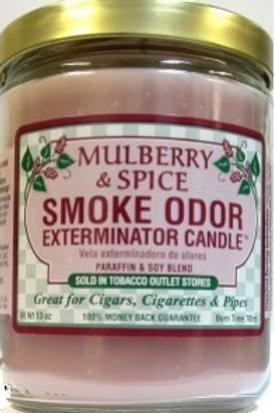 Smoke Odor Jar Mulberry Spice 13 Oz