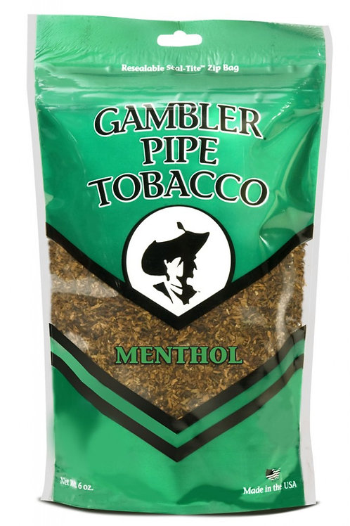 Gambler Pipe Tobacco Menthol 6 Oz