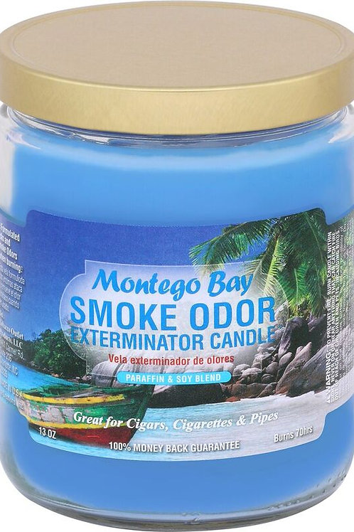 Smoke Odor Jar Montego Bay 13 Oz