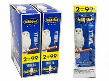 White Owl Cigar Vanilla 2/.99 30 Ct