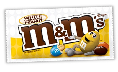 361257 - M&M White Chocolate Peanut
