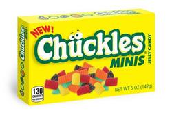 CHUCKLES MINIS BOX 5OZ