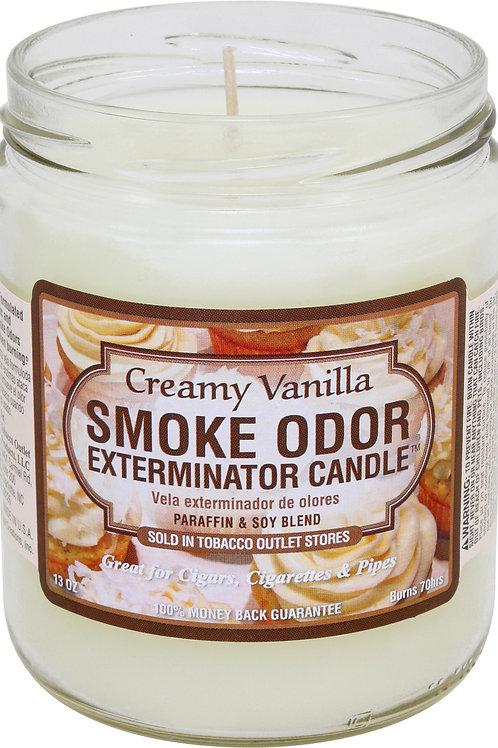 Smoke Odor Jar Creamy Vanilla 13 Oz