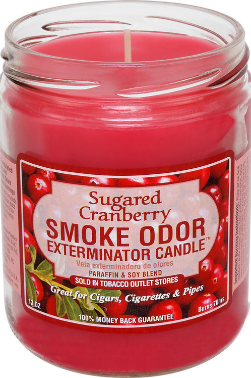 Smoke Odor Jar Sugared Cranberry