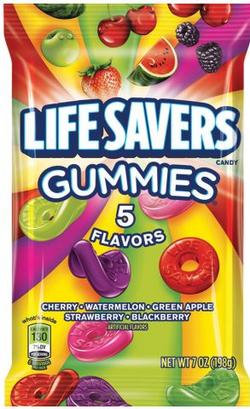 310813 - Lifesaver Gummi 7oz