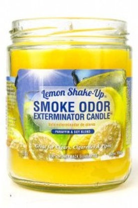 Smoke Odor Jar Lemon Shake-Up 13 Oz