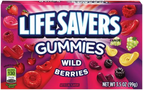 LIFESAVERS GUMMIES BOX WILD BERRIES 3.5OZ